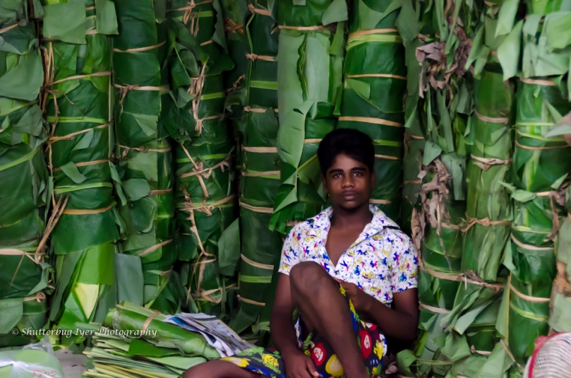 Banana Leaf Vendor